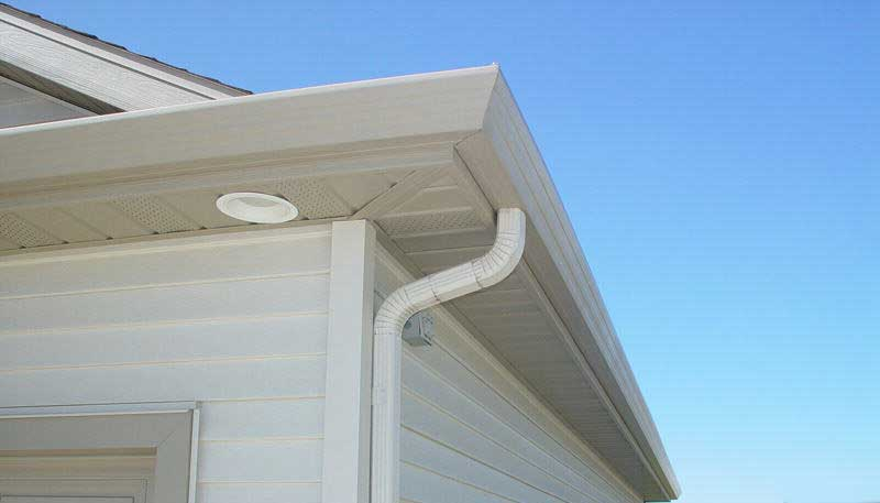 Seamless eavestrough Installations and repairs, Windsor, Ontario